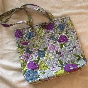 VERA BRADLEY Printed Quilted Fabric tote